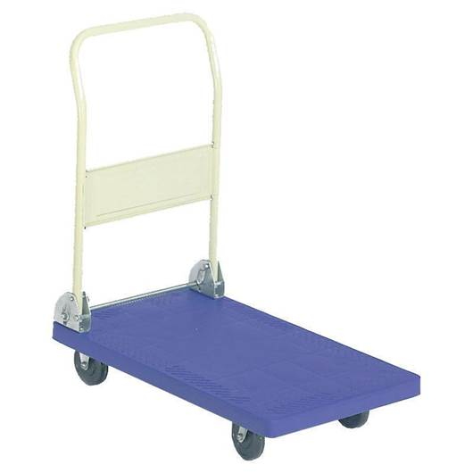 Picture of Lightweight Plastic Platform Trolley