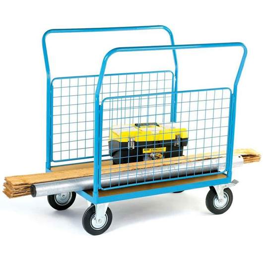 Picture of Platform Trucks with 2 Mesh Sides