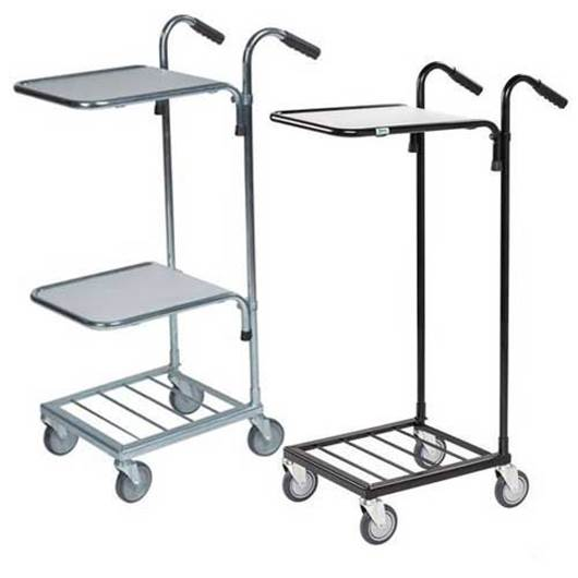 Picture of Distribution Trolleys with Adjustable Shelves