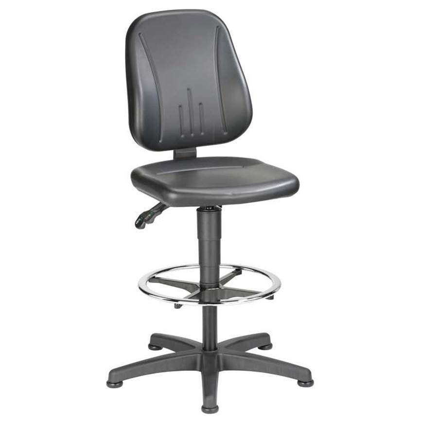 Picture of Industrial Draughting Faux Leather Chairs
